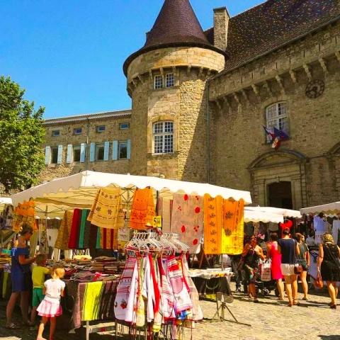 La Source Ardèche - Marché d'Aubenas à proximité