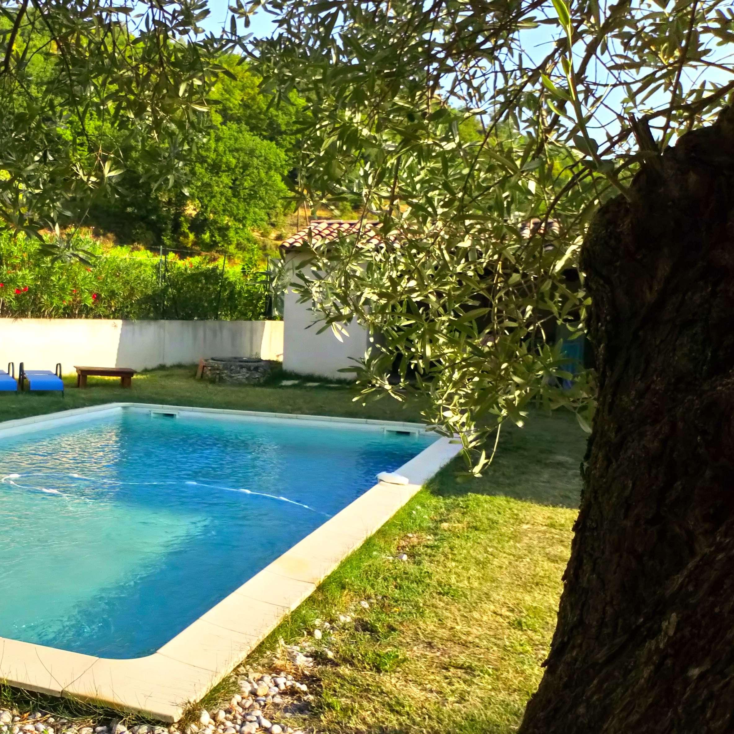 La Source Ardèche -  la piscine de 12x7m