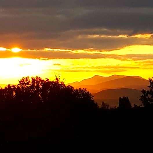 La Source Ardèche - lever du soleil